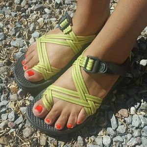 Lime Green Chaco's
